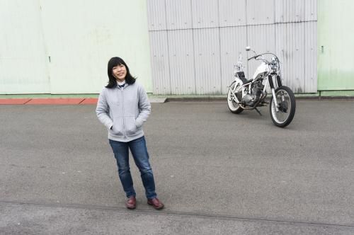 真綾 & HONDA XL250S(2019.03.23/NAGOYA)_f0203027_18100473.jpg