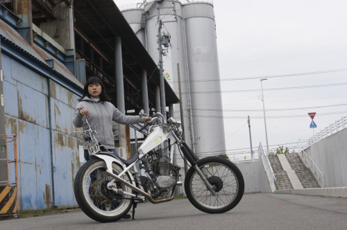 真綾 & HONDA XL250S(2019.03.23/NAGOYA)_f0203027_18113447.jpg
