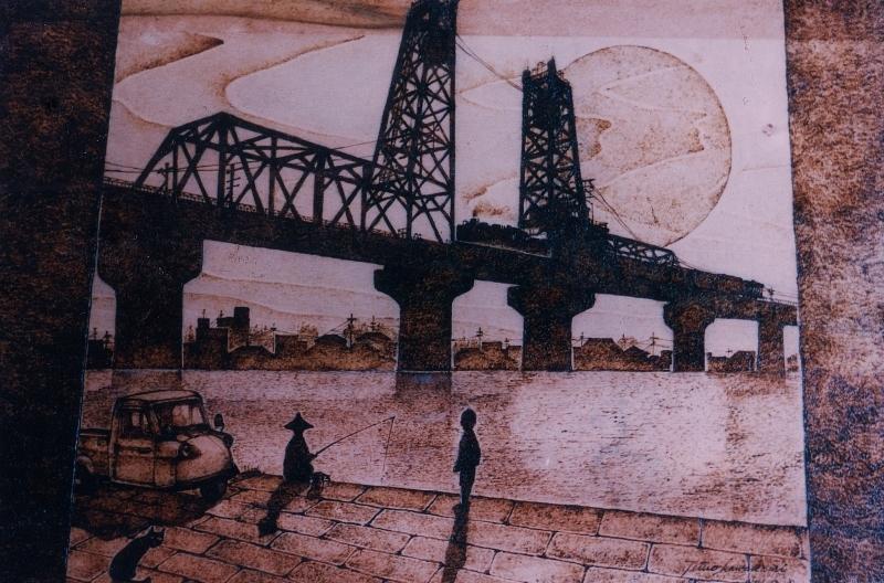 トレインアート 「鉄橋は、かく語りけり」1997年製作作品_f0227828_15234630.jpg