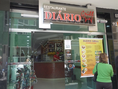 南米最後の食事はDiário GrillのTボーンステーキ_c0030645_01163714.jpg