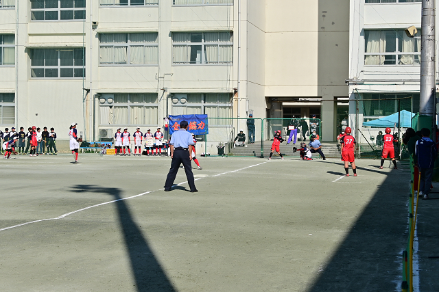 2019東京高校秋期大会 神田VS藤村②_b0249247_19103571.jpg