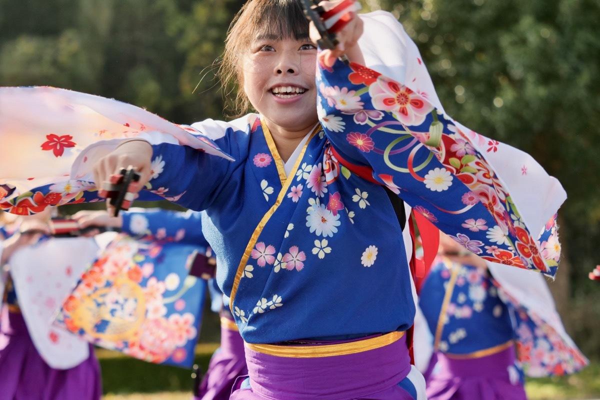 2018日原らっせによさこい祭りその3(奄美連合萩組その1)_a0009554_23045301.jpg