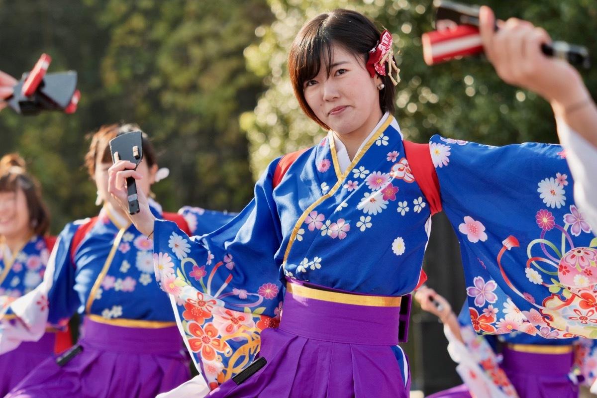 2018日原らっせによさこい祭りその3(奄美連合萩組その1)_a0009554_23060001.jpg