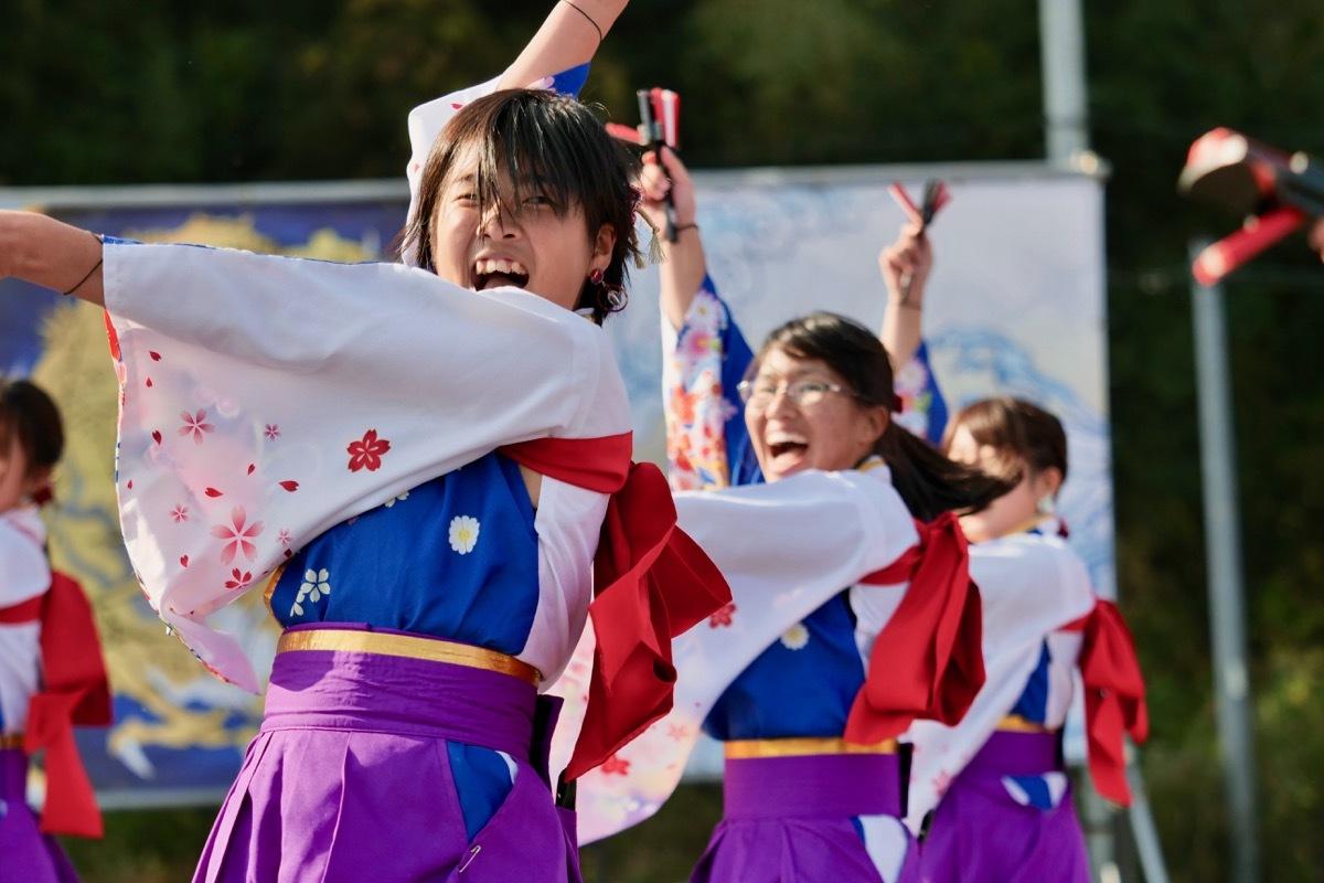 2018日原らっせによさこい祭りその3(奄美連合萩組その1)_a0009554_23064583.jpg