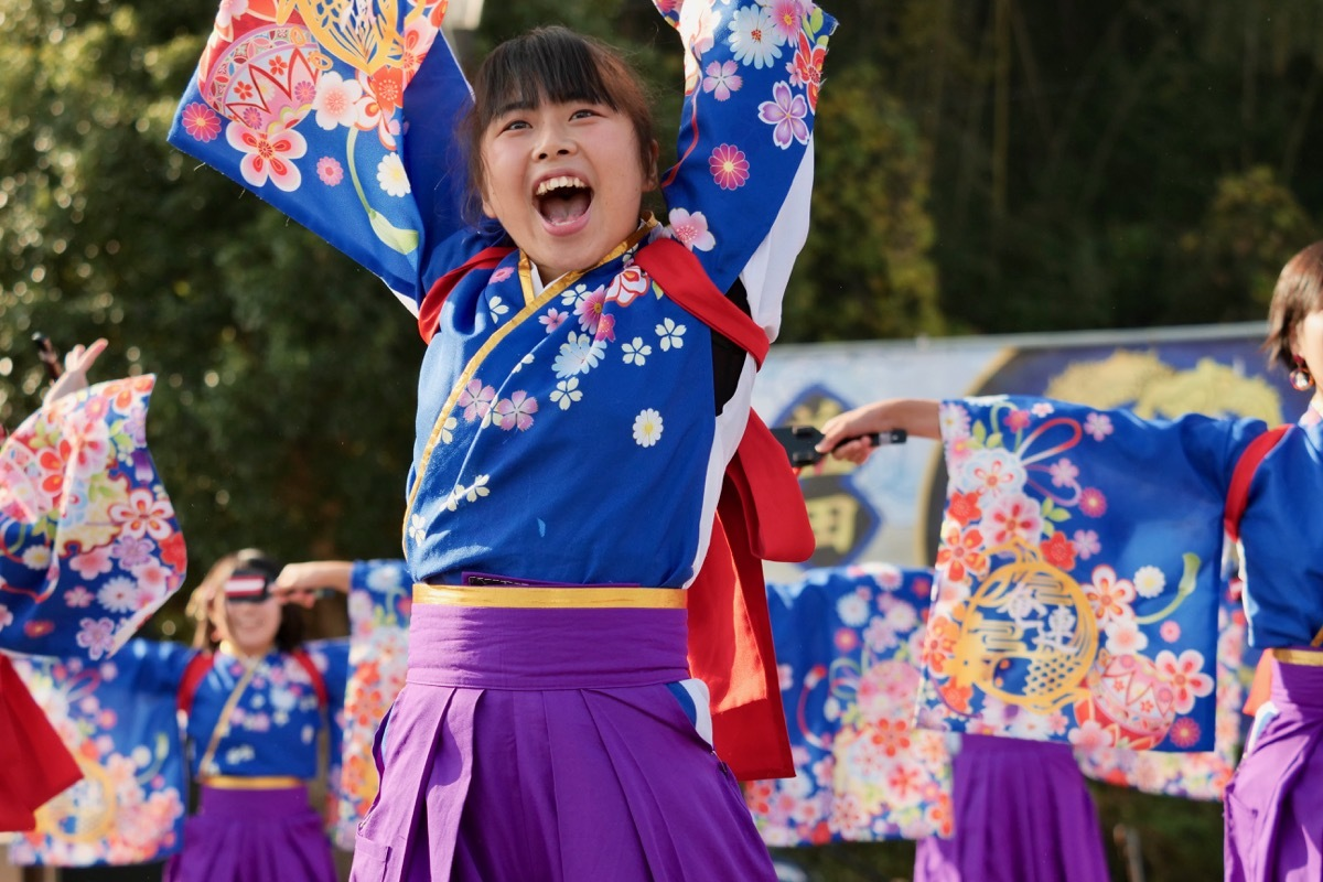 2018日原らっせによさこい祭りその3(奄美連合萩組その1)_a0009554_23080125.jpg