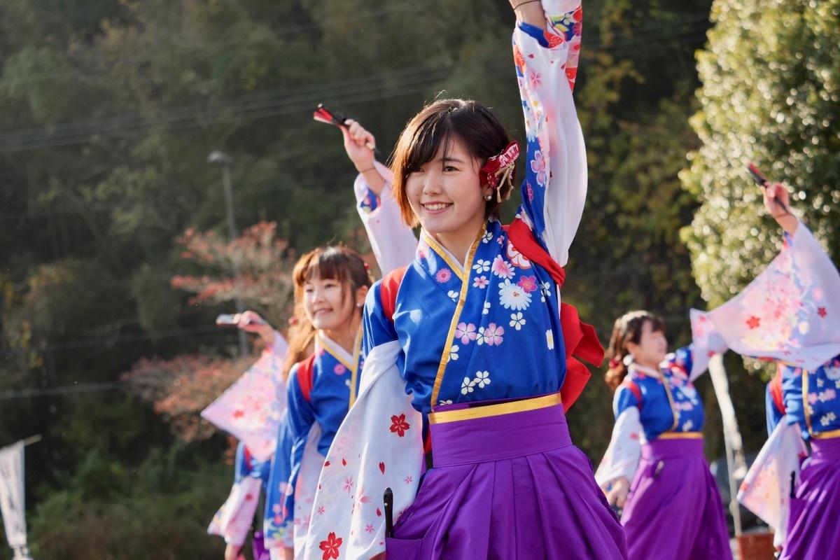 2018日原らっせによさこい祭りその3(奄美連合萩組その1)_a0009554_23125592.jpg