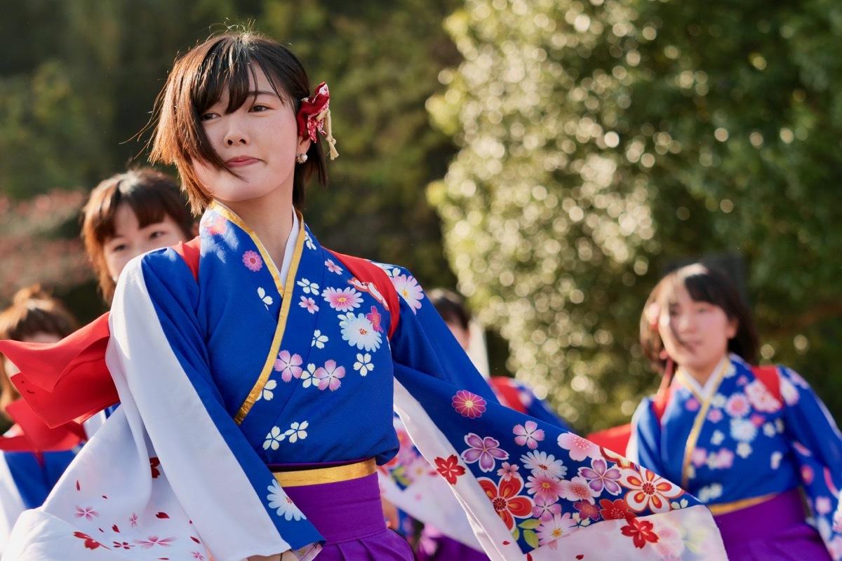 2018日原らっせによさこい祭りその3(奄美連合萩組その1)_a0009554_23141571.jpg