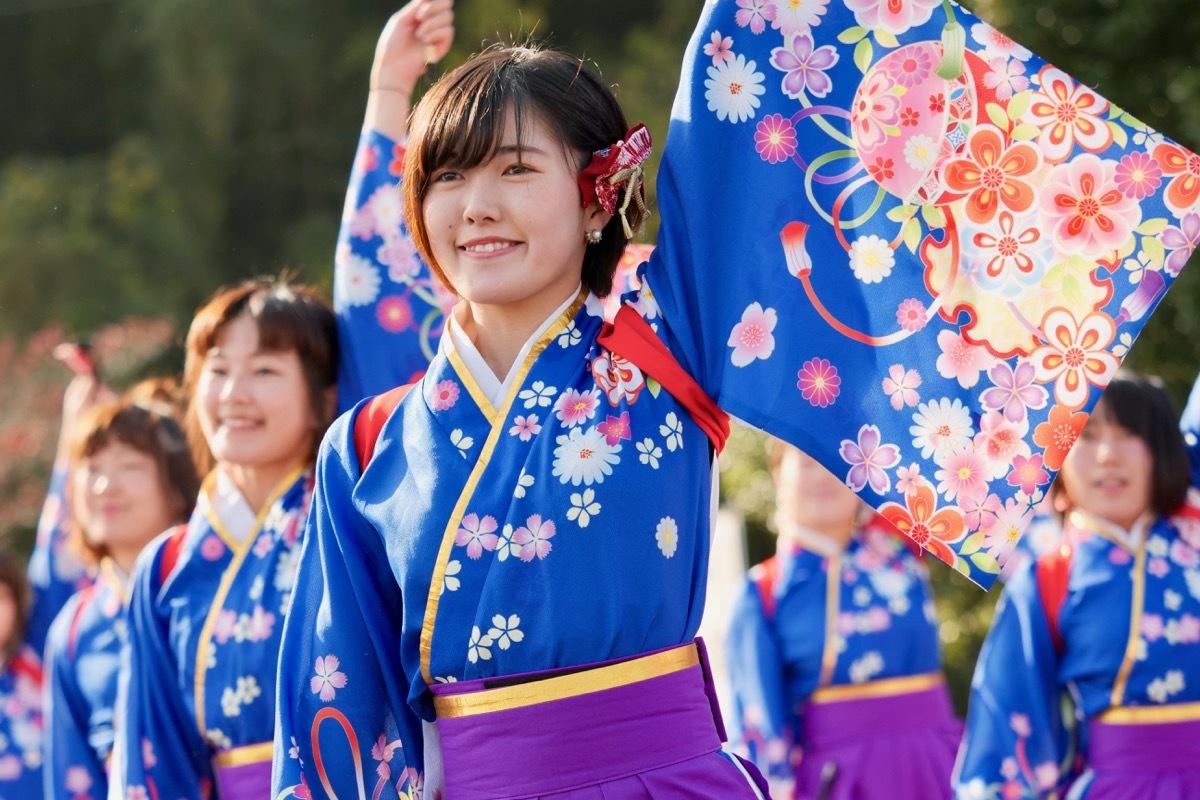 2018日原らっせによさこい祭りその3(奄美連合萩組その1)_a0009554_23144844.jpg