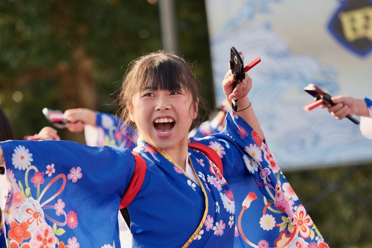 2018日原らっせによさこい祭りその3(奄美連合萩組その1)_a0009554_23145187.jpg