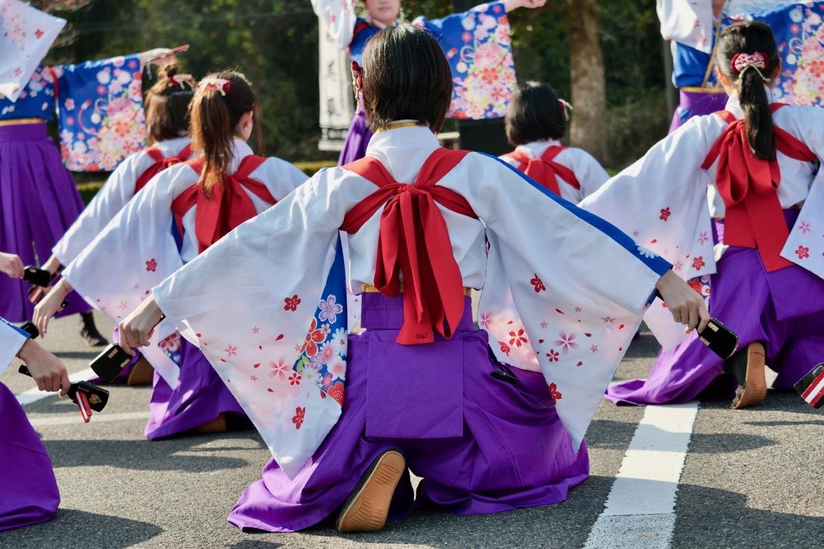 2018日原らっせによさこい祭りその3(奄美連合萩組その1)_a0009554_23145682.jpg