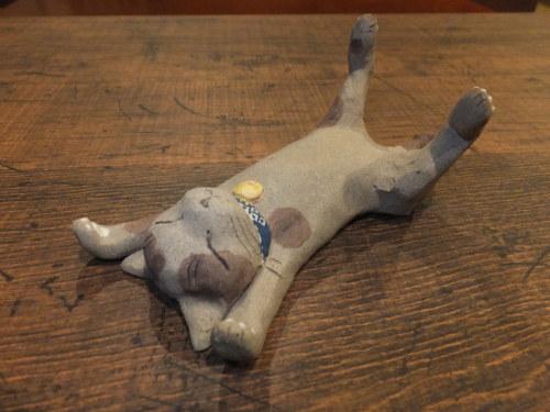 猫とシーサー置物展・2019~2_d0336460_16424026.jpg