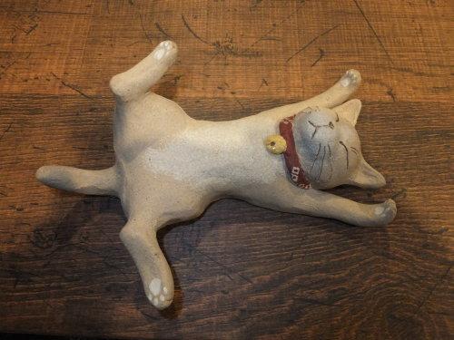 猫とシーサー置物展・2019~2_d0336460_16524246.jpg
