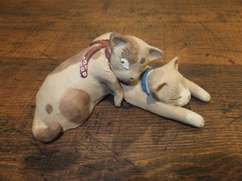 猫とシーサー置物展・2019~2_d0336460_16574223.jpg