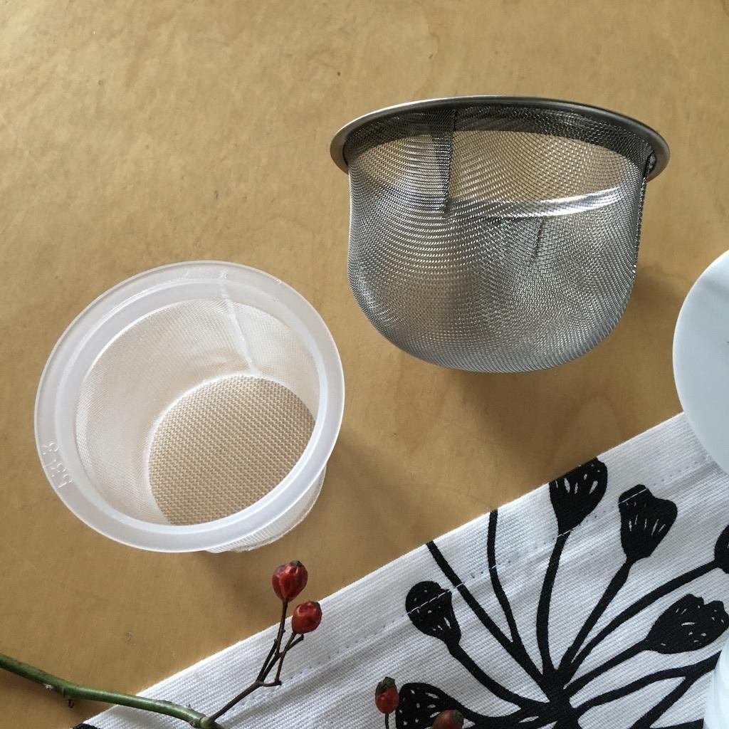 白山陶器の急須とポット_c0334574_18475256.jpg