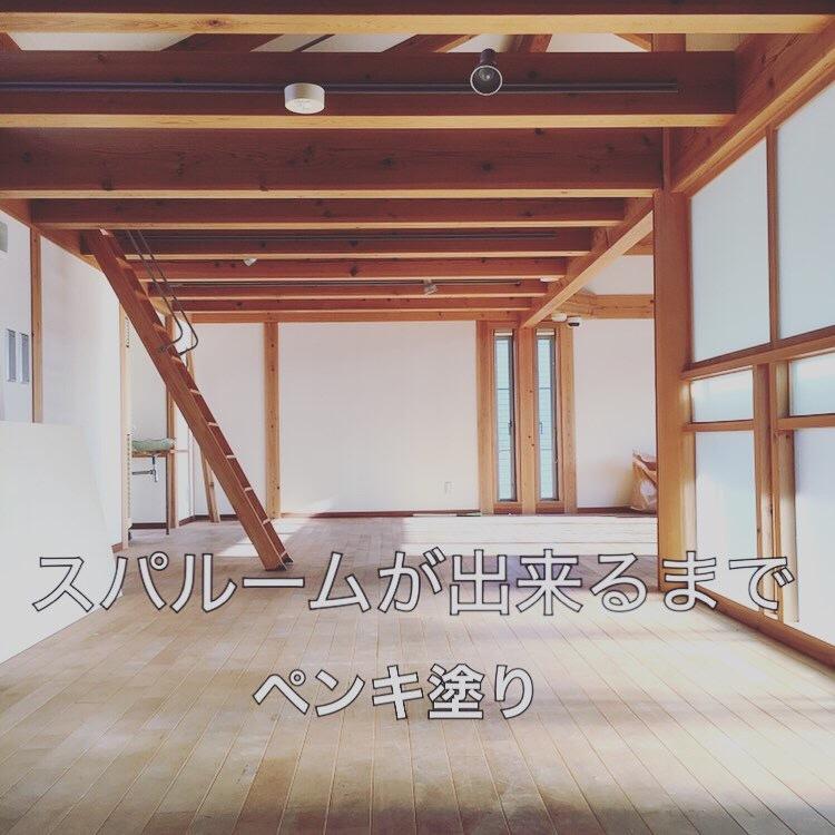 スパルームが出来るまで vol 2  〜ペンキ塗りに挑戦〜_a0133078_14361862.jpeg