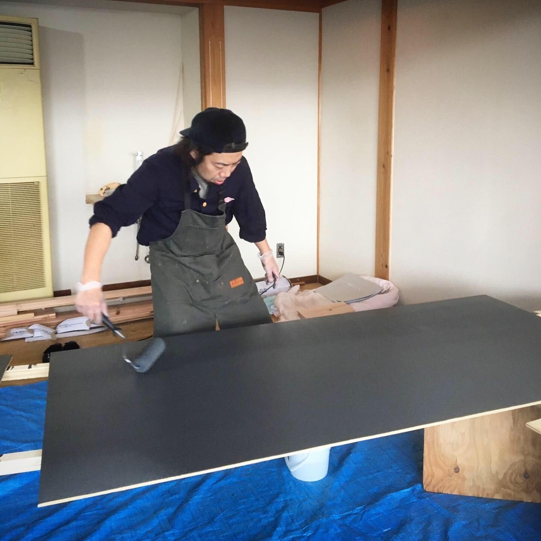 スパルームが出来るまで vol 2  〜ペンキ塗りに挑戦〜_a0133078_14364960.jpeg