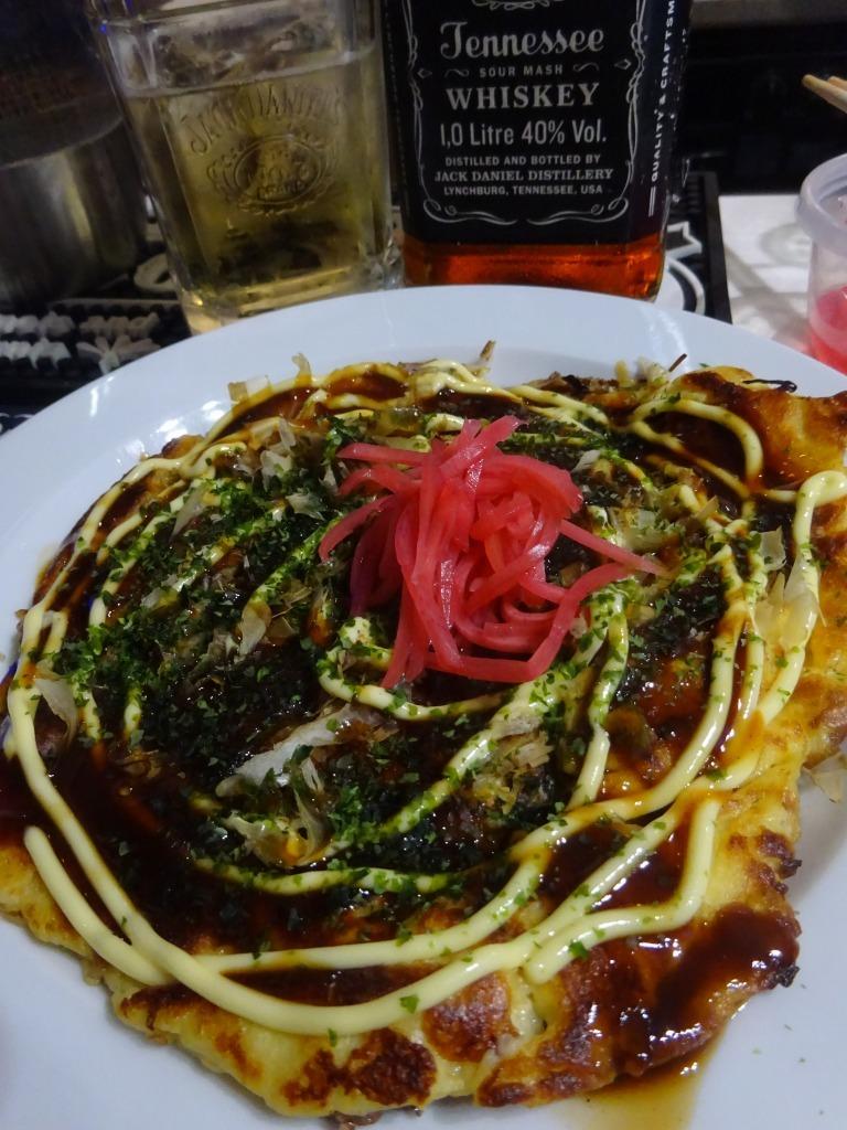 アメリカカブレかもろ日本人か分からぬ食卓 86 大阪名物 千房 お好み焼セット_d0061678_10503381.jpg