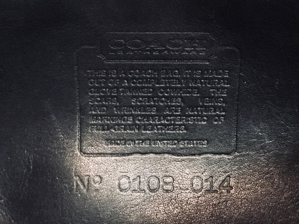 マグネッツ神戸店 11/30(土)Superior入荷! #2 Old COACH Leather Bag!!!_c0078587_22173900.jpg