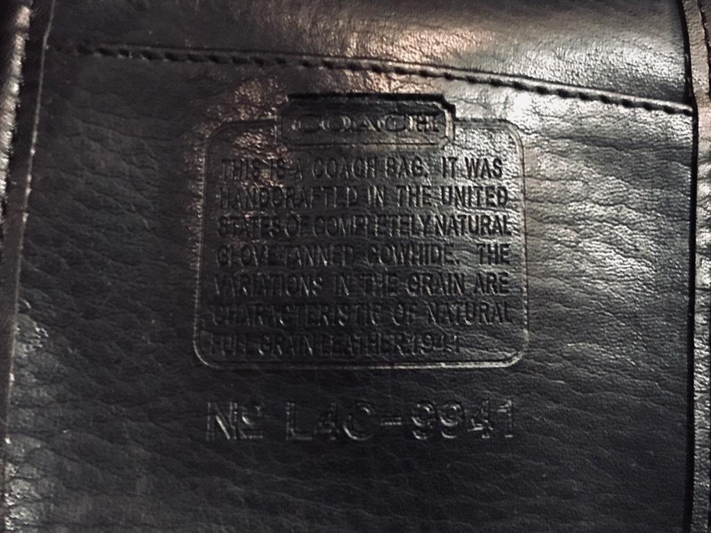 マグネッツ神戸店 11/30(土)Superior入荷! #2 Old COACH Leather Bag!!!_c0078587_22181135.jpg
