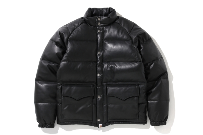 LEATHER CLASSIC DOWN JACKET_a0174495_12355479.jpg