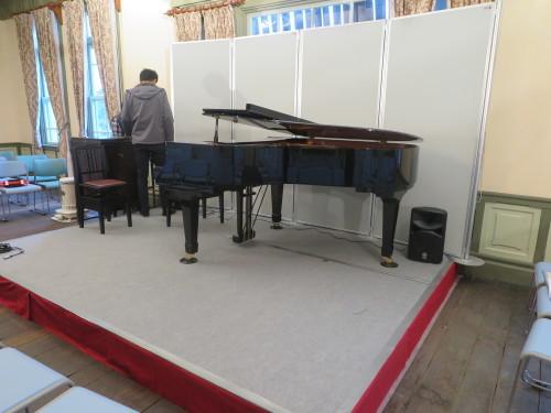 重要文化財コンサート2019 会場設営・ピアノ設置_c0075701_16040453.jpg