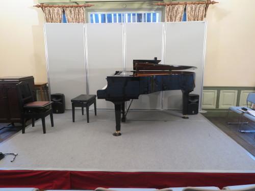 重要文化財コンサート2019 会場設営・ピアノ設置_c0075701_16040545.jpg