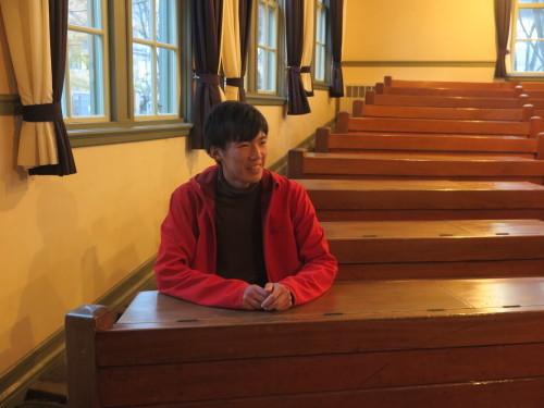 化学バイオ工学科2年野呂裕樹君が重文本館を見学_c0075701_17471680.jpg