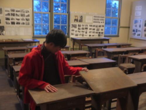 化学バイオ工学科2年野呂裕樹君が重文本館を見学_c0075701_17474640.jpg