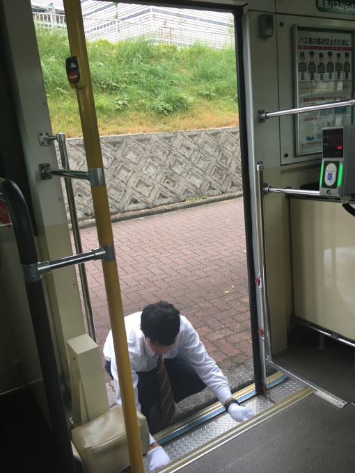 バスの運転手さま…❤️_c0162404_08453500.jpg