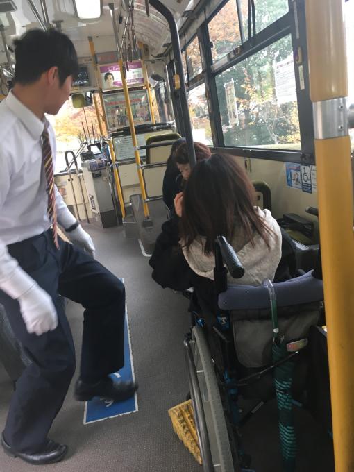 バスの運転手さま…❤️_c0162404_08460875.jpg