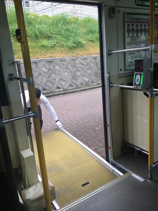 バスの運転手さま…❤️_c0162404_08472012.jpg
