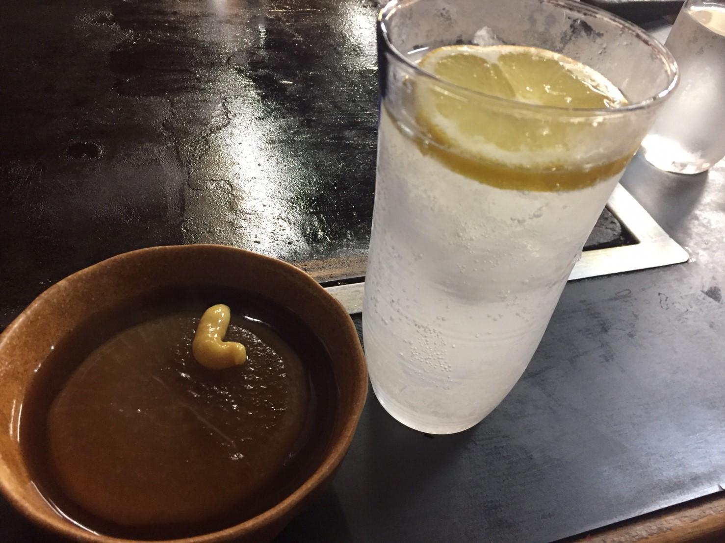 お好み焼き お多福  肉玉&ミックス_e0115904_09132653.jpg