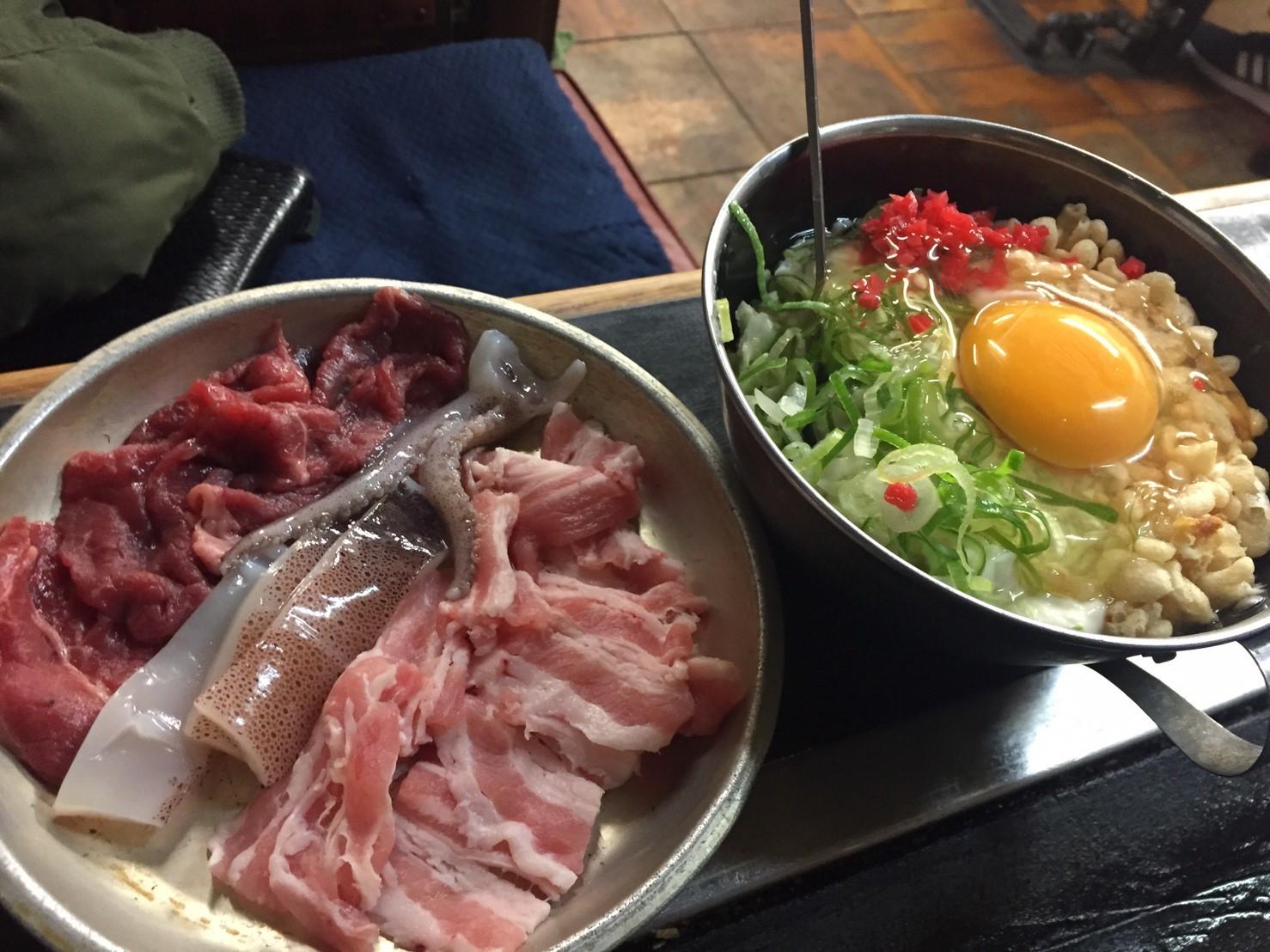 お好み焼き お多福  肉玉&ミックス_e0115904_18213817.jpg