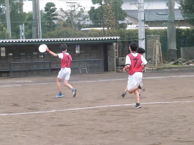 クラス対抗でアルティメットを戦う富士高の球技大会_f0141310_07354884.jpg