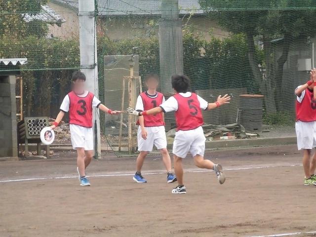 クラス対抗でアルティメットを戦う富士高の球技大会_f0141310_07355095.jpg