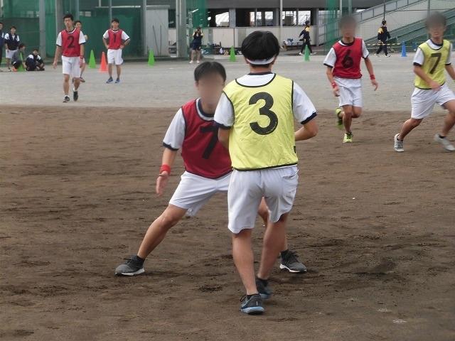クラス対抗でアルティメットを戦う富士高の球技大会_f0141310_07360117.jpg