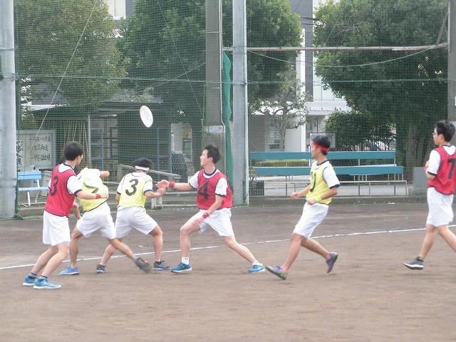 クラス対抗でアルティメットを戦う富士高の球技大会_f0141310_07360963.jpg