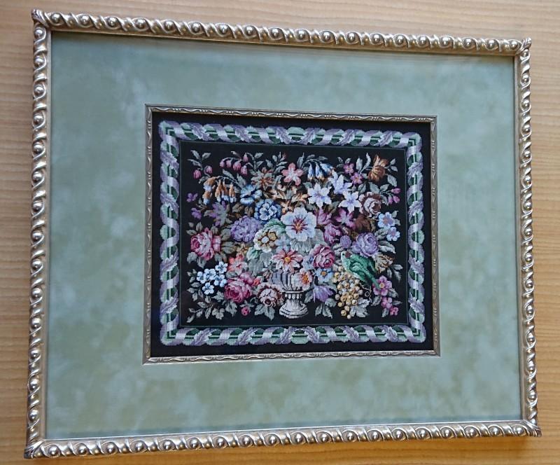 プチポアン刺繍協会作品展 at 京王プラザホテルロビーギャラリー_f0361510_14471833.jpg