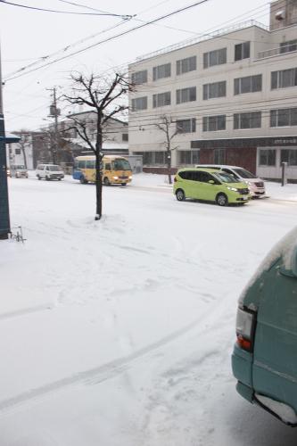避けては通れない除雪。_a0139912_16133811.jpg