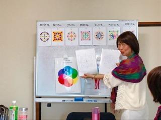 マンダラぬりえでカラーセラピー 名古屋講座 レポ_c0200917_00040725.jpg