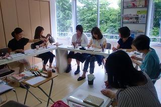 マンダラぬりえでカラーセラピー 名古屋講座 レポ_c0200917_01573630.jpg