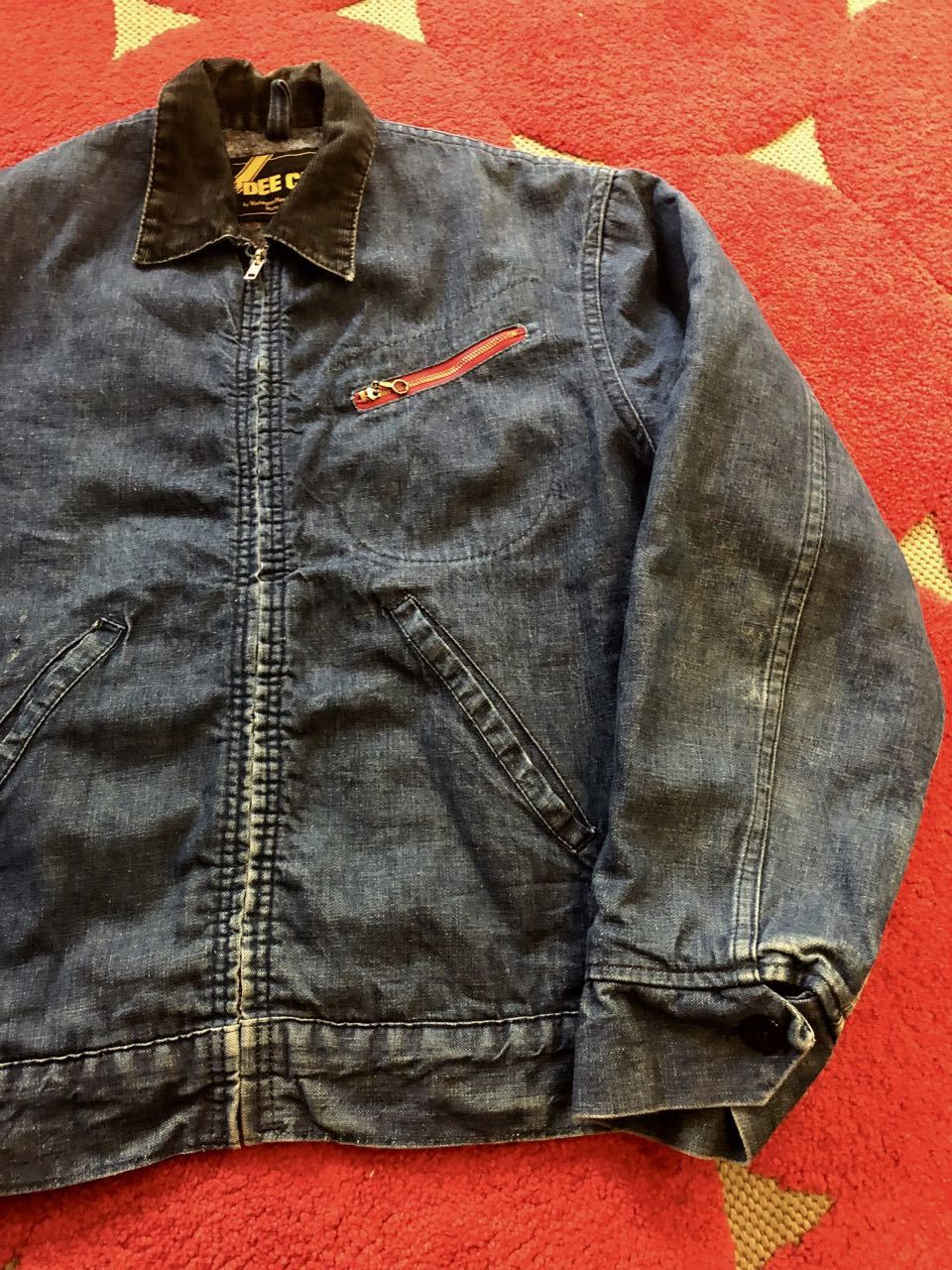 11月24日(木)入荷! 70s DEE CEE Denim Work Jacket!!_c0144020_12500385.jpg
