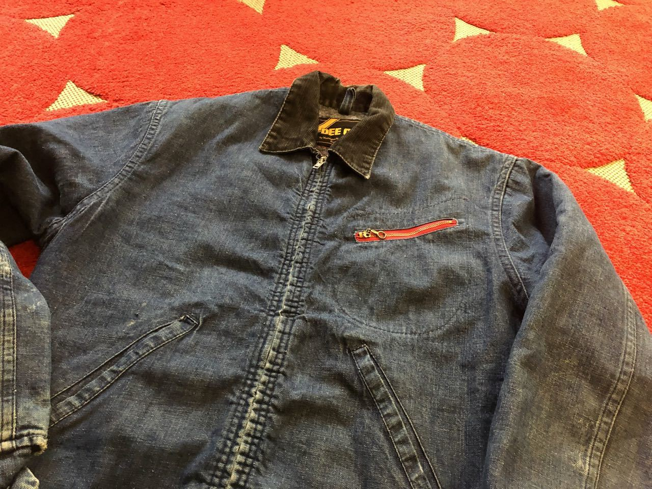 11月24日(木)入荷! 70s DEE CEE Denim Work Jacket!!_c0144020_12501018.jpg