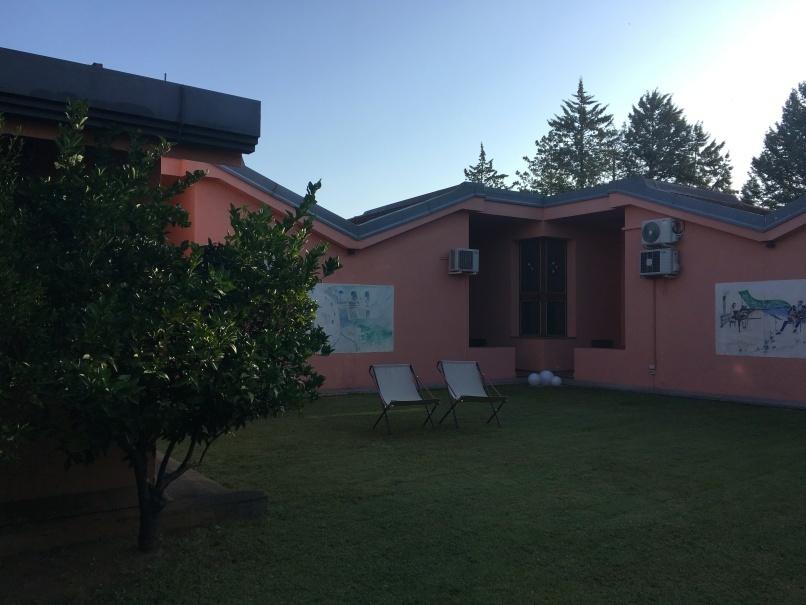 南イタリアユキキーナツアー8日目① カストロヴィッラリのホテル_d0041729_22231259.jpg