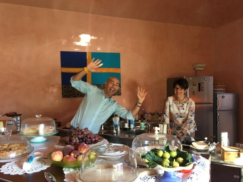 南イタリアユキキーナツアー8日目① カストロヴィッラリのホテル_d0041729_22233136.jpg