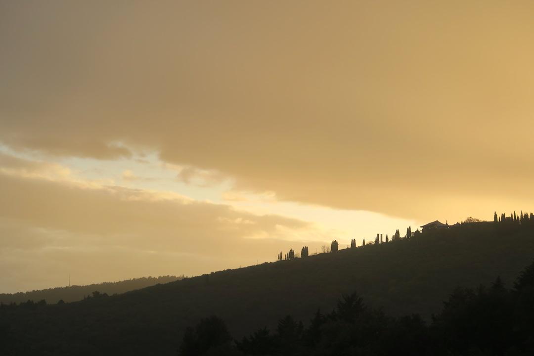 思いがけず美しい夕焼けと一段落_f0234936_8542995.jpg