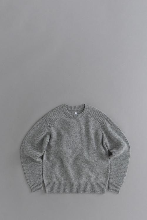 KATO Freedom Sleeve Shetland Wool Knit_d0120442_11101312.jpg