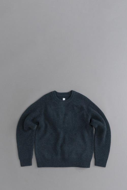 KATO Freedom Sleeve Shetland Wool Knit_d0120442_11173531.jpg