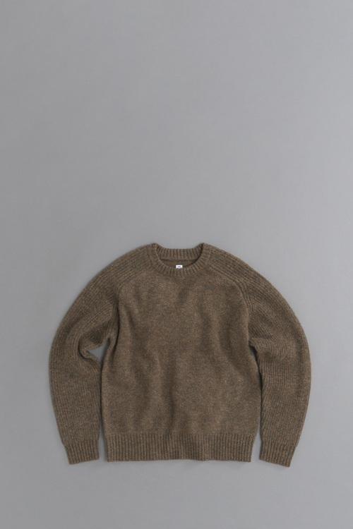 KATO Freedom Sleeve Shetland Wool Knit_d0120442_11213578.jpg