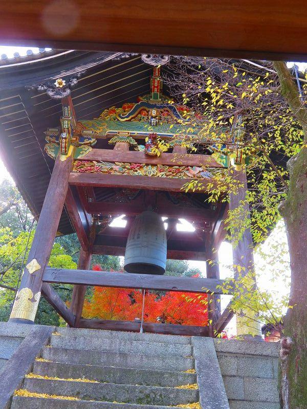 西本願寺「飛雲閣と鐘楼」20191126_e0237645_17063923.jpg